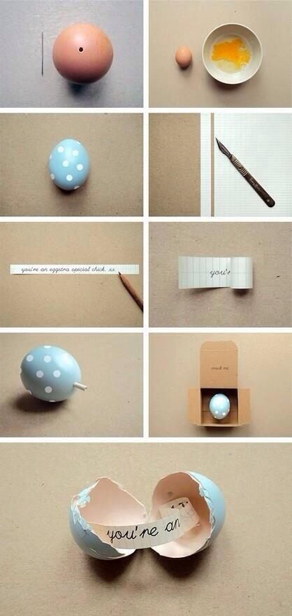SO doing this on Easter this year! Why didn't I think of this before? It's too cute!