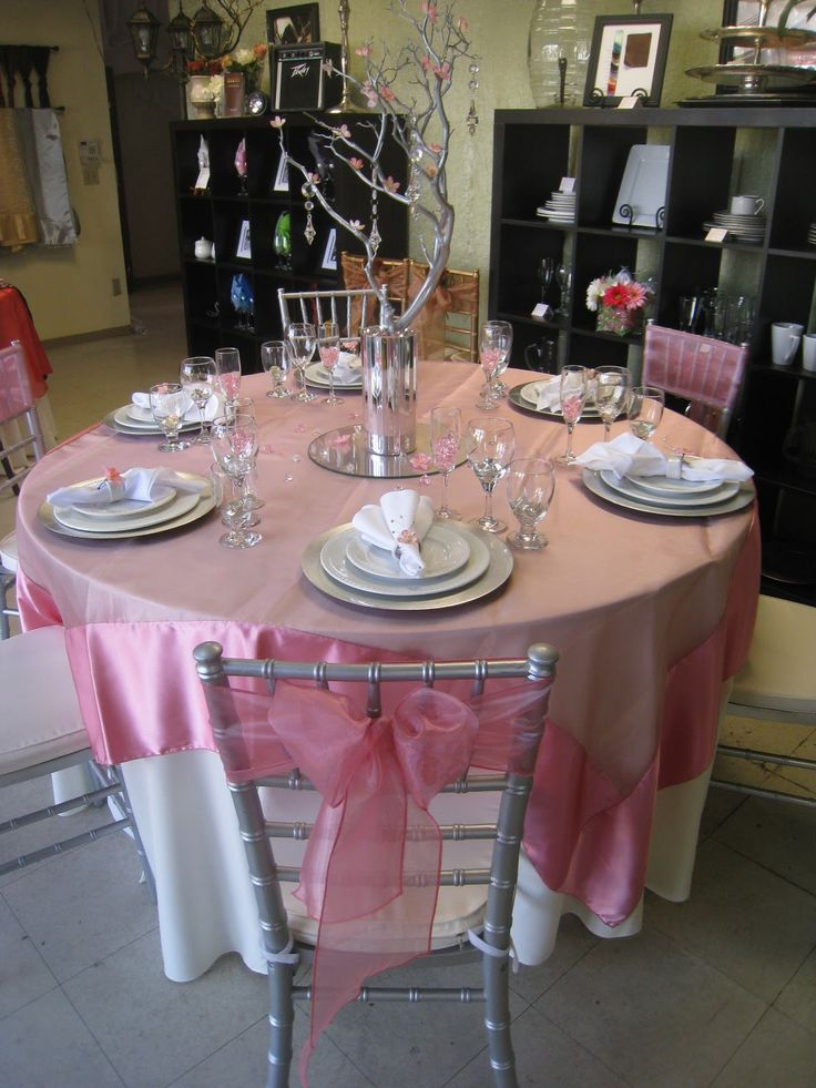 Best organza table overlay ideas images on pinterest