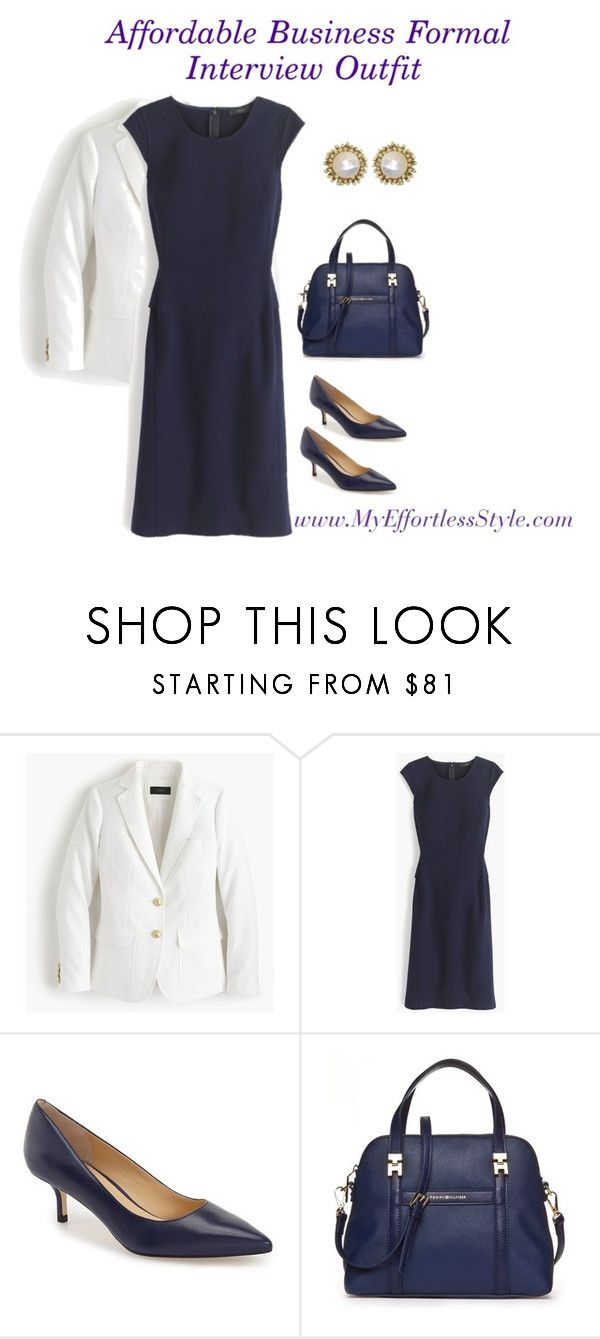 Business Formal Interview Outfit by my-effortless-style on Polyvore  featuring J.Crew. Interview OutfitsBusiness FormalIvanka TrumpOutfit SetsWork  ...
