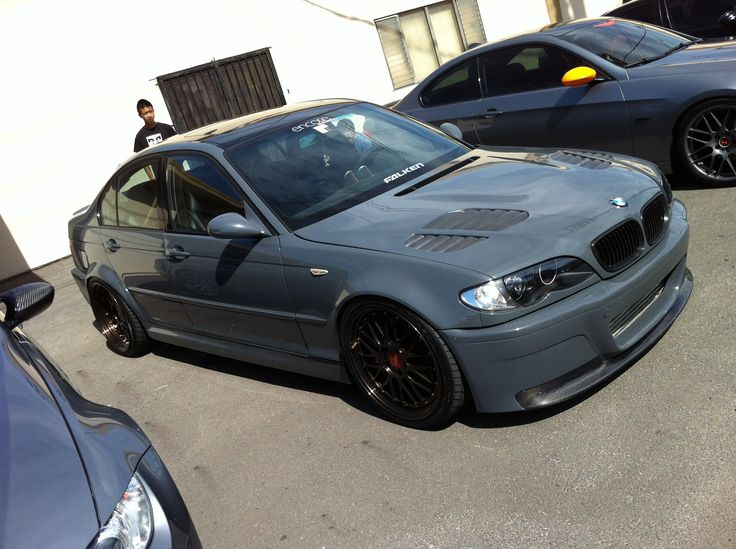 Slammed E46 Sedan  Stanced E46 Sedan Like this BMW page