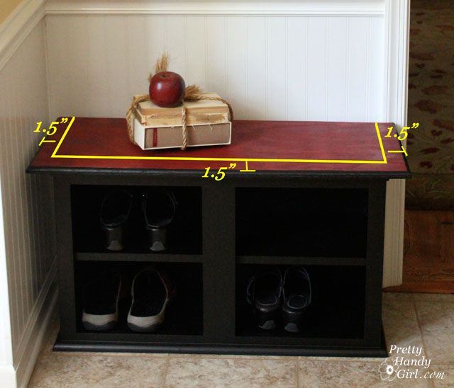 17 Best Ideas About Shoe Storage Benches On Pinterest
