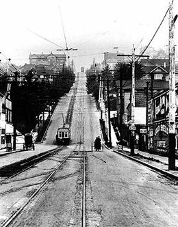 Queen Anne Avenue, Seattle. Where I first met and kissed my wife.