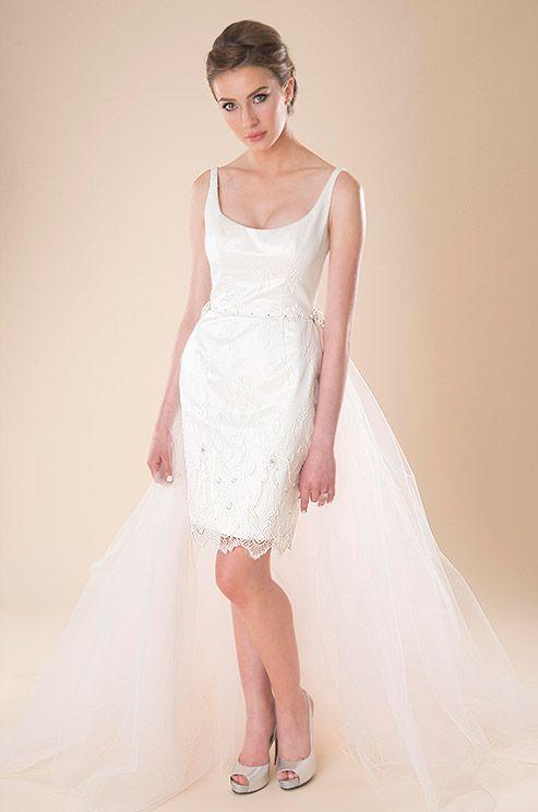 235 best Short Wedding Dresses images on Pinterest | Macaroons