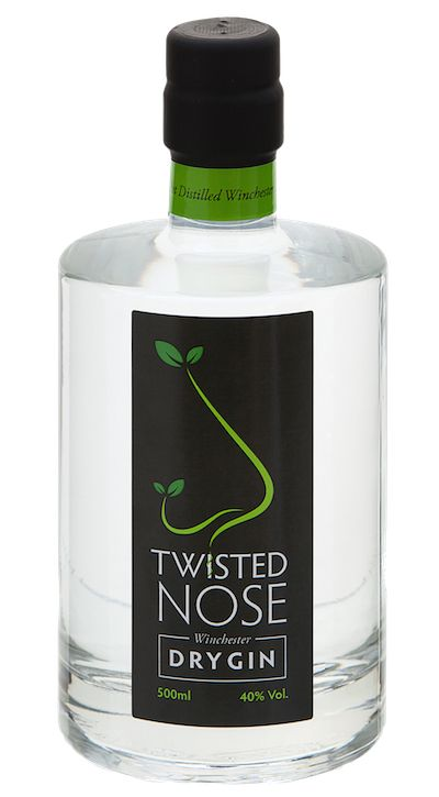 Twisted Nose Gin £32.00 serve with a twisted grapefruit peel