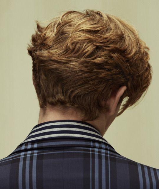 Landon's hair