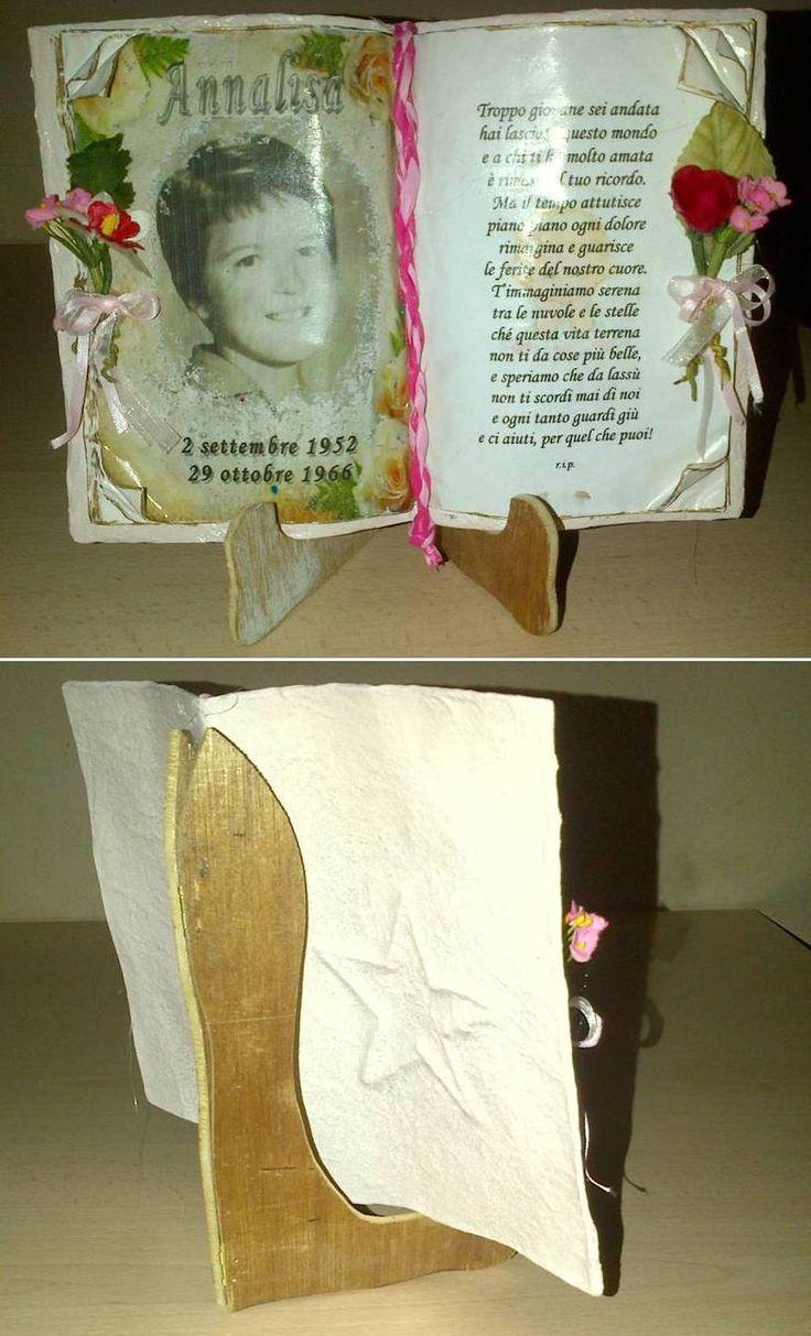 Prova libro scultura. Il reggi libro è da sistemare!