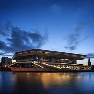 Dokk1, Aarhus, Denmark  The library in Dokk1 gives you free access to a world of…