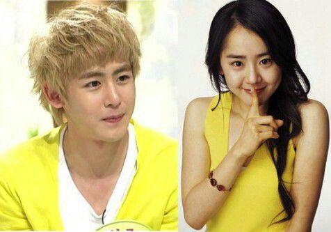 Nichkhun 2PM vs Moon Geun Young
