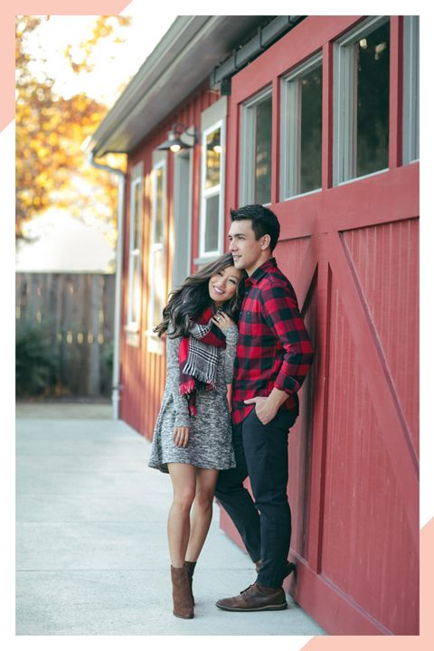couples christmas outfit ideas - 29 Picture Perfect Christmas Outfit Ideas Christmas Photos