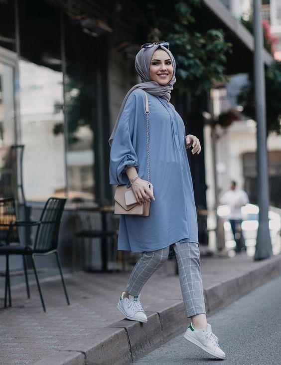 Hijab Fashion été 2018  Comment avoir un modern Hijab style chic et  confortable , astuces hijab