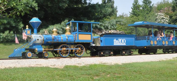 4. Louisville Zoo train