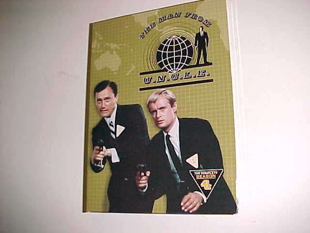Time Life The Man From U.N.C.L.E. Complete Season 4 DVD Set (6) #TimeLife