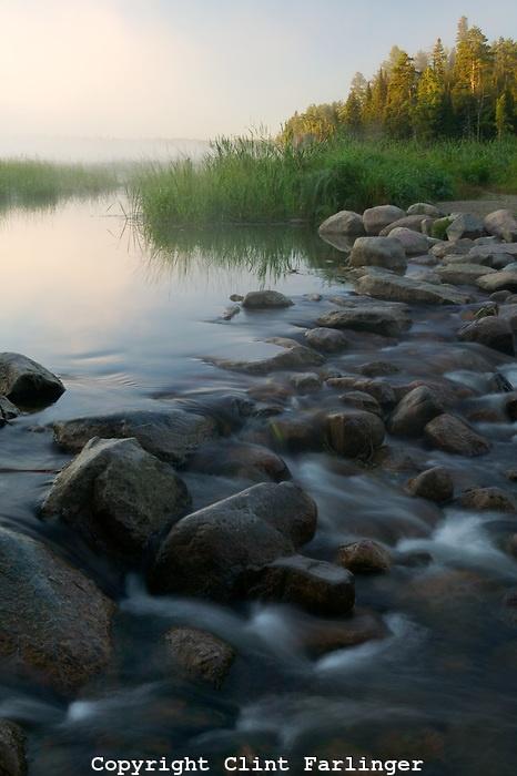 headwaters of the Mississippi River, Lake Itaska, Itaska State Park, Minnesota