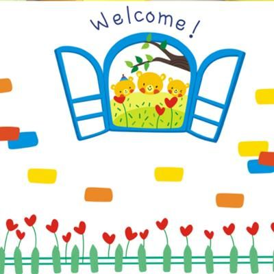 Fedex spedizione gratuita cartoon adesivi murali decorazione bambino adesivi ay840(può essere stili misti)