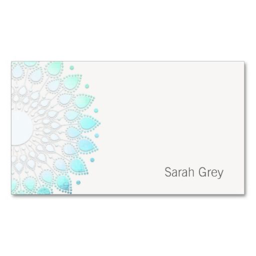 Simple Turquoise Foil Look Business Card. This great business card design is available for customization. All text style, colors, sizes can be modified to fit your needs. Just click the image to learn more!