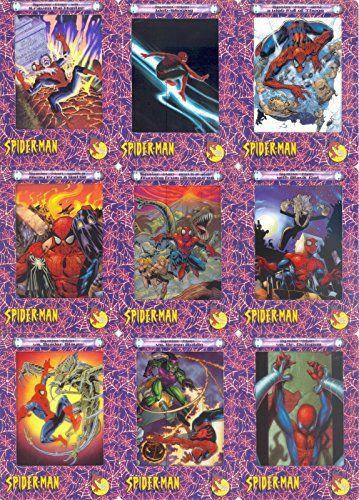 SPIDER-MAN FILMCARDZ 2002 ARTBOX MINI MASTER SET BASE ALL INSERTS & SELL SHEET @ niftywarehouse.com #NiftyWarehouse #Spiderman #Marvel #ComicBooks #TheAvengers #Avengers #Comics
