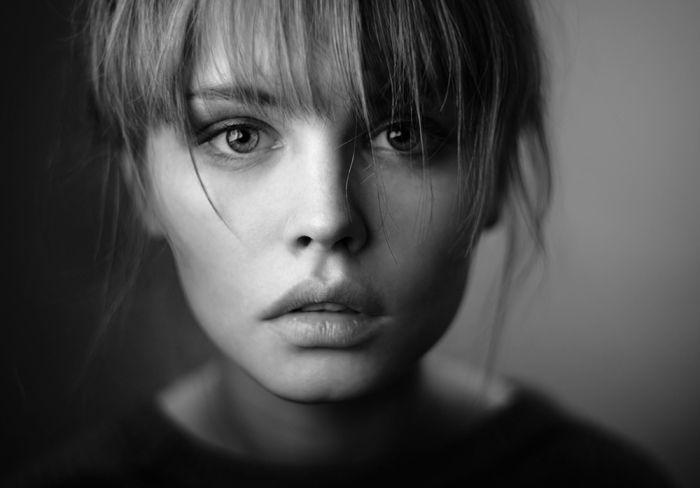 Чёрно-белые портретные работы Дмитрия Агеева (Dmitry Ageev).
