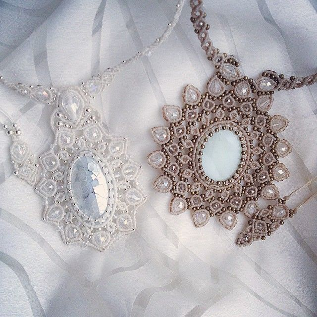 """Последнее любимое ))) #necklace #macrame #work #svitoe #handmade #beauty #boho #bohemian"" Photo taken by @akielena on Instagram, pinned via the InstaPin iOS App! http://www.instapinapp.com (11/13/2014)"