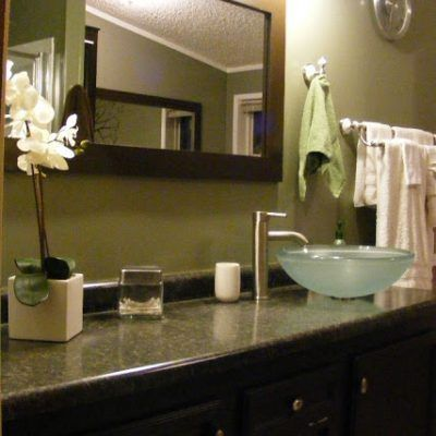 Budget Mobile Home Bathroom Remodel Pinterest Budgeting - Replace bathroom vanity mobile home
