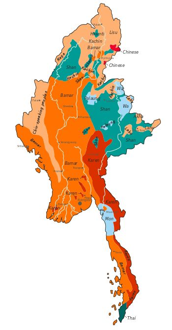 Demographics of Burma - Wikipedia, the free encyclopedia