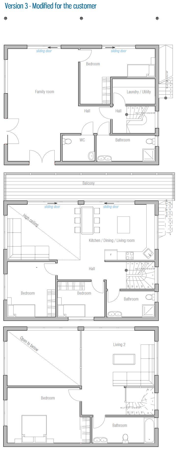 220 best floor plans images on pinterest floor plans small