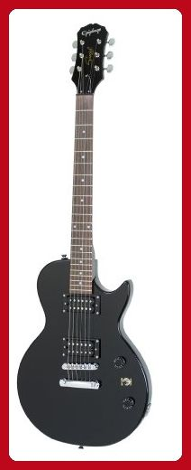 Epiphone Les Paul SPECIAL-II Electric Guitar, Ebony - Fun stuff and gift ideas (*Amazon Partner-Link)