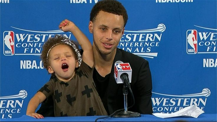 Riley Curry Is the True Champion of the 2015 NBA Playoffs - Yahoo