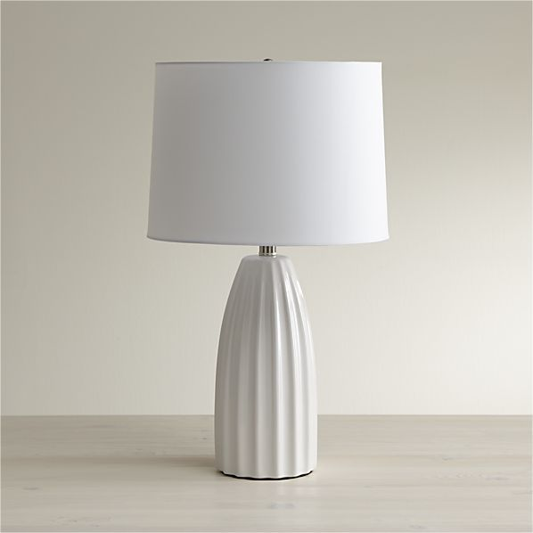 Ella White Table Lamp In 2019 Amy Bell Bsmt White