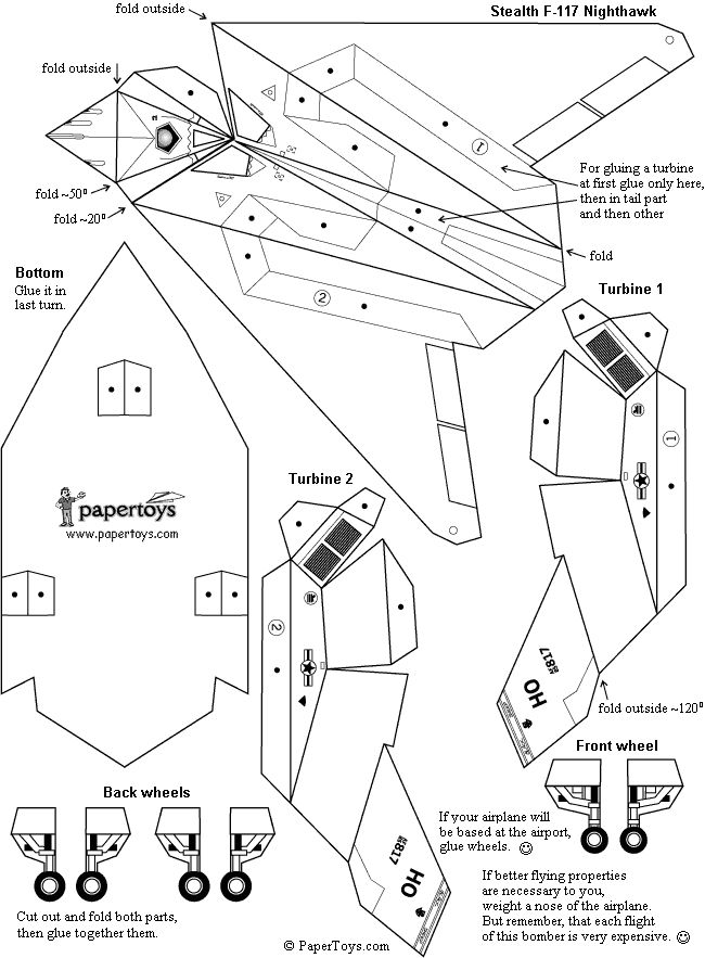 Maquetas para imprimir y armar en papel (megapost