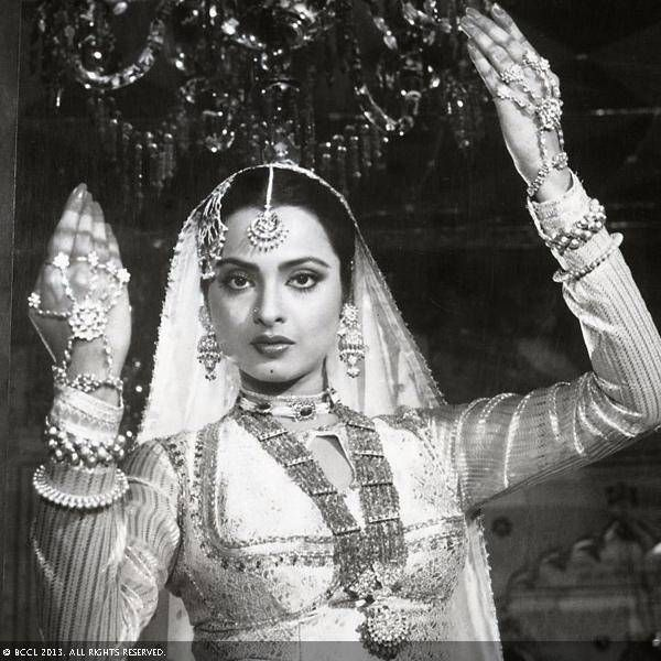 Rekha Right from being the chubby girl of the 70s to the 80s sizzling diva, Rekha is the ultimate Bollywood transformation story. She is one of the most enigmatic stars of Bollywood.