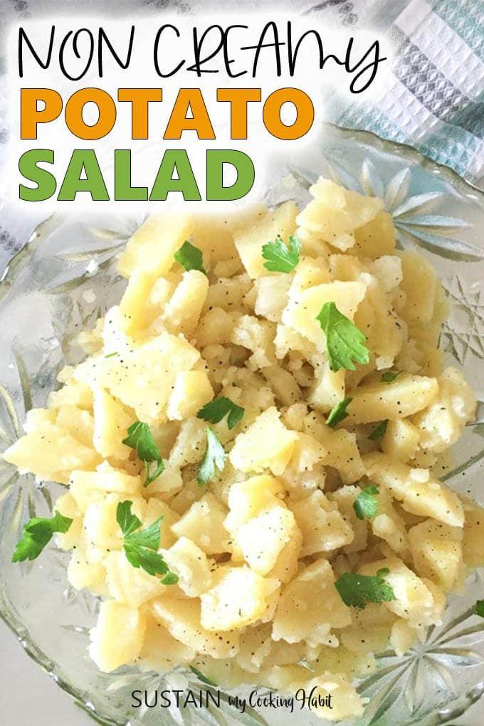 Classic Potato Salad Recipe No Eggs