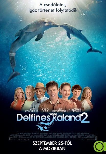 Delfines kaland 2. (2014) | Mozizum