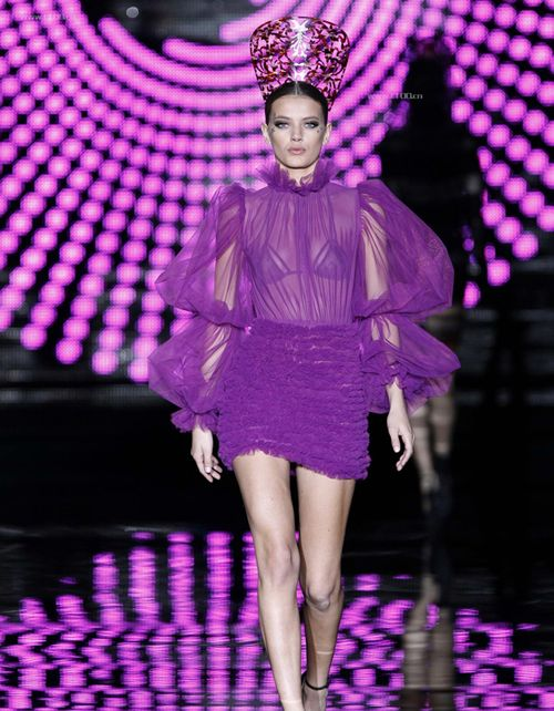 Andres Sarda Autumn/Winter 2012: Pretty Purple, Purple Pin, P P P Purple, Purple Andre, Purple Bliss, Passionate Purple, Color Purple, Purple Party, Purple Fashion