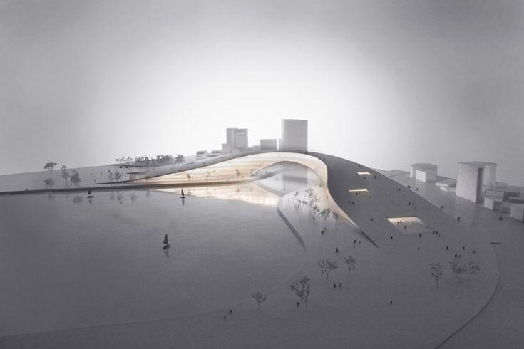 Architectural Model - Moon Bridge Jaja Architects