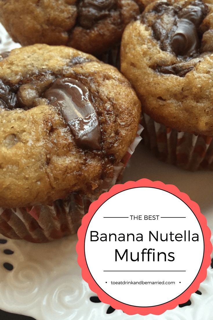 (Disclosure: This post may contain affiliate links. If you choose to purchase anything through them, there is no extra cost to you. I simply make a small commission from the sale which allows me to keep this site up and running. Thank you for supporting To Eat, Drink & Be Married!).  Okay guys, today I… Read More Banana Nutella Muffins