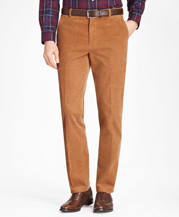 Brooks Brothers Mens Clark Orange Trousers Pant