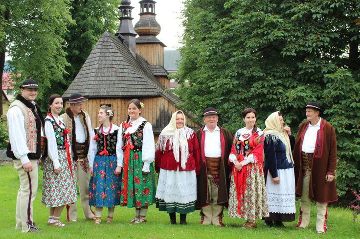 Clothing of Zagórzanie from Kasina Wielka, southern Poland