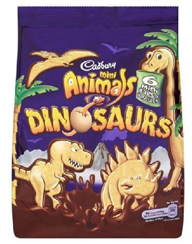 dinosaur crackers
