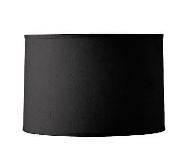 46 best shades accessories lamp shades images on pinterest straight sided linen drum shade medium black audiocablefo