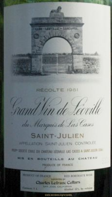 Chateau Leoville Las Cases, de Bordeaux, anuncia seu segundo vinho ...