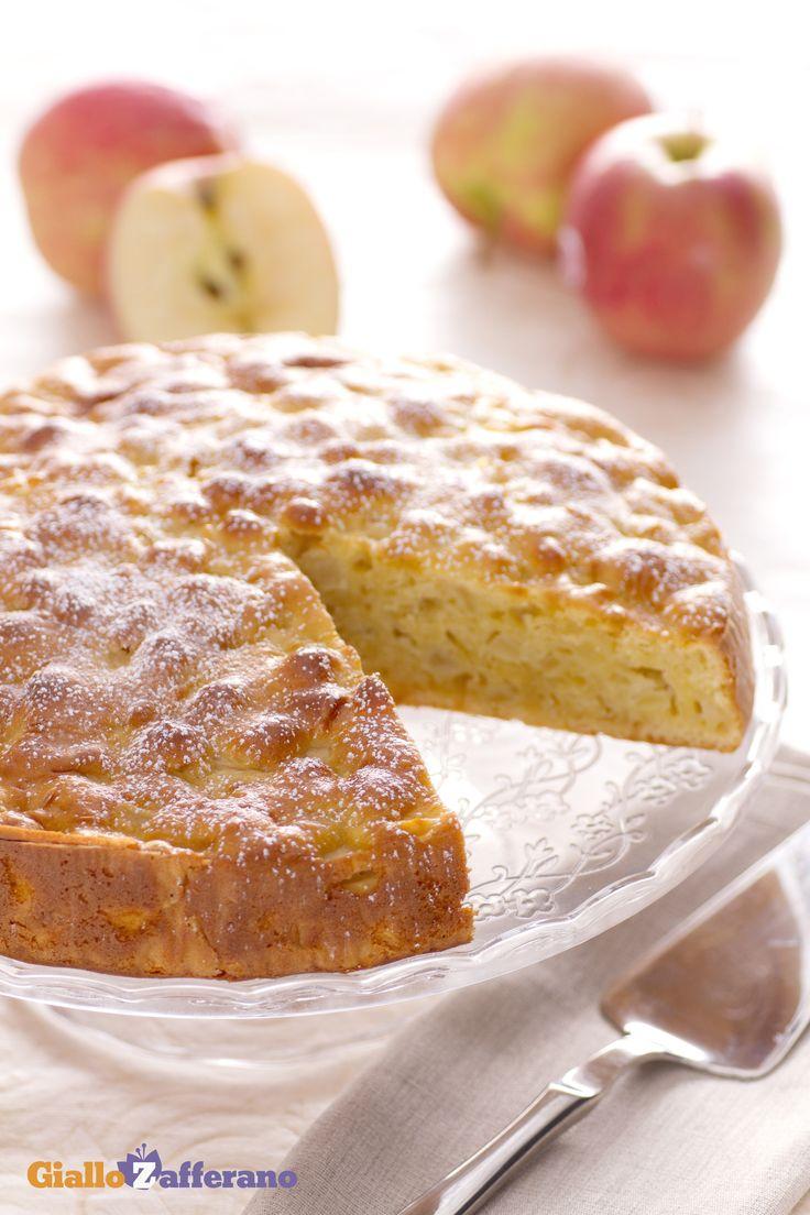 la torta di mele soffice (apple ricotta cake)