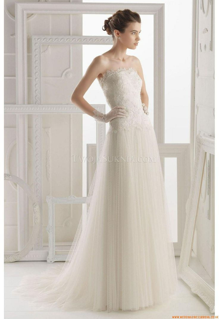 The 124 best Wedding Dresses Aire Barcelona images on Pinterest ...