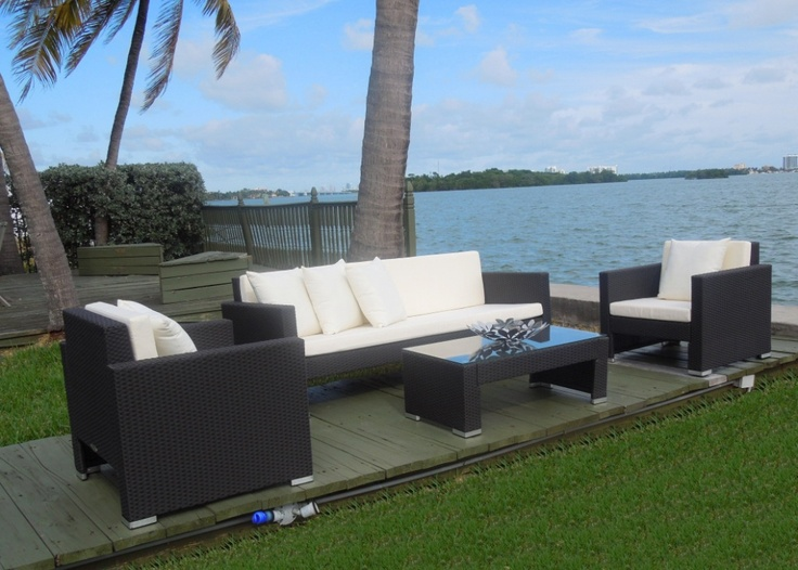 12 best images about Patio Furniture Synthetic Wicker on Pinterest