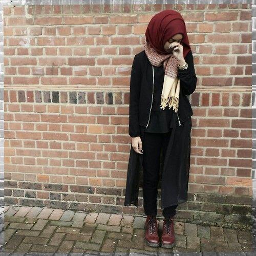Cupofmintgreentea Ootd Instagram Cupofmintgreentea Hijab Style Pinterest Ootd And