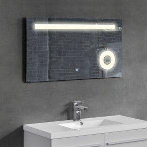 [neu.haus] Specchio muro/bagno / specchio per bagno illuminazione LED 84,30 €