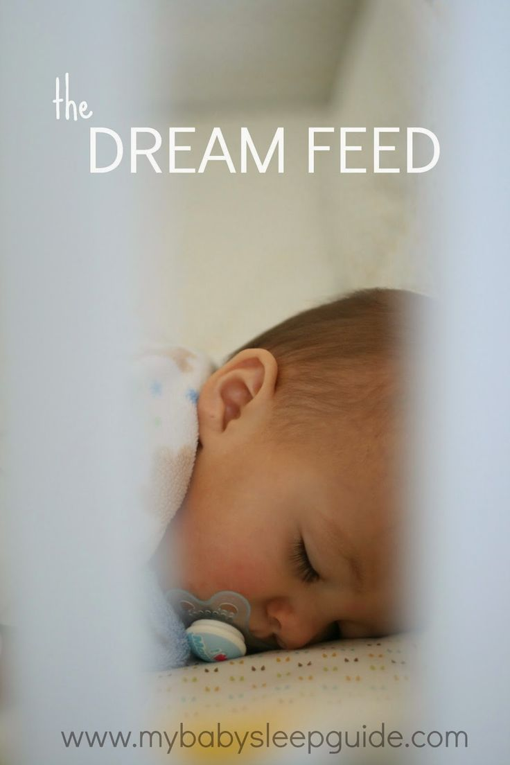 What is a dreamfeed and how do I give it? ~ My Baby Sleep Guide - Your baby sleep problems solved!