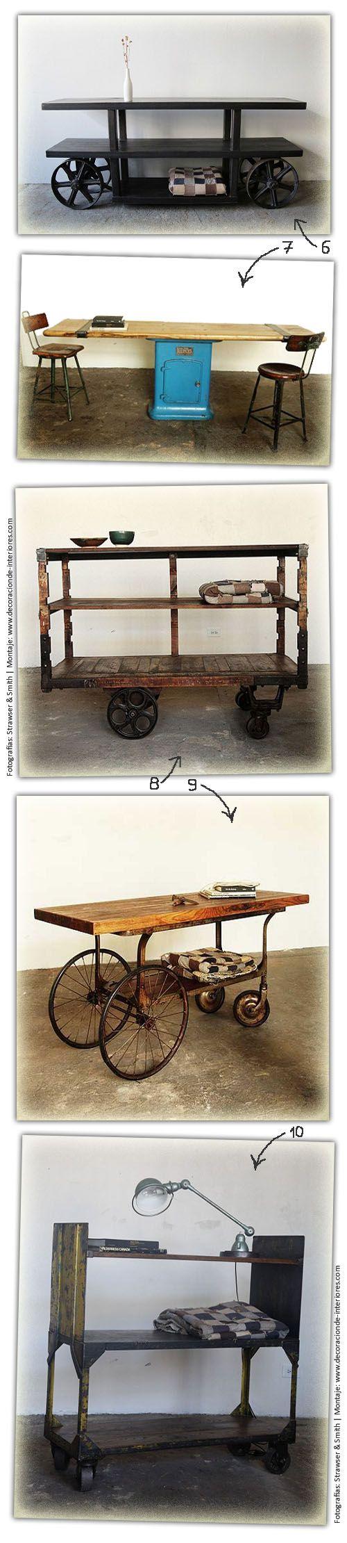 1000 images about muebles furniture on pinterest - Consola estilo industrial ...