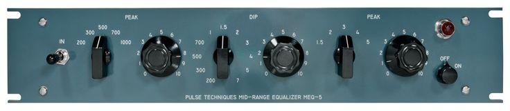 Pultec MEQ-5 Midrange Equalizer - Standard Version