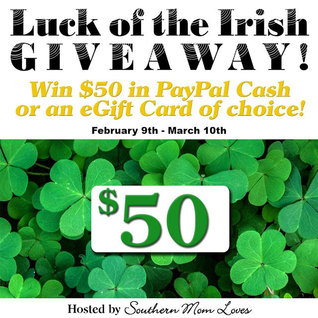 $50 Luck of the Irish Giveaway