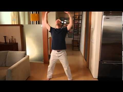 Qi Kong Morning Routine  20 min.--basically a morning stretch, nothing more